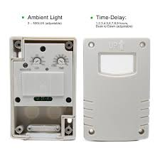 Sensor Light Lux Setting Us 10 99 50 Off High Quality Outdoor Ip44 220vac Light Control Photo Sensor Switch Automatic Photocell Switch For Lamps In Switches From Lights