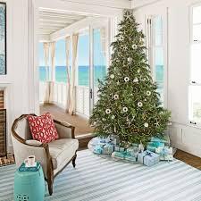 Xmas Decoration For Living Room Christmas Decorating Coastal Living