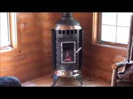 Country Fireplace - Corner install of Thelin freestanding gas ...