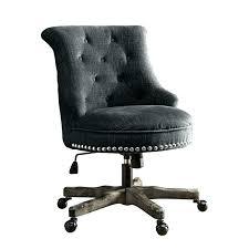 tufted desk chair no wheels upholstered desk chair office in charcoal gray chairs upholstered desk chair tufted desk chair no wheels