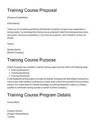 Course Proposal Template Education Business Proposal Templates 10 Free Examples