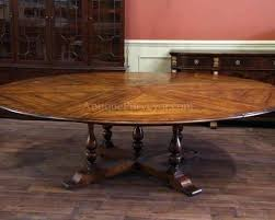 expandable round dining table. Expandable Round Dining Table Large Tables Rustic Styles Solid Walnut Extendable And 6