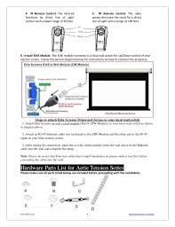 ug elite aerietension projection screen projector screen switch wiring diagram Projector Screen Switch Wiring Diagram #18
