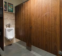 public bathroom doors. Ironwood Manufacturing Wood Veneer Toilet Partition And Engraved Bathroom Doors. Beautiful, Upscale Public Restroom Doors T