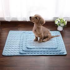Pet Dog <b>Summer Cooling</b> Mats Blanket Ice <b>Cats Bed</b> Mats For Dog ...