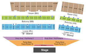 Frontier Park Seating Chart Cheyenne Frontier Days Seating Chart Cheyenne