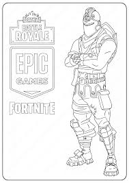 The brave knight on the horse coloring page. Drawing Black Knight Drawing Fortnite Coloring Pages