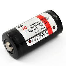 ≡ <b>Аккумулятор 16340</b> (CR123) 750mAh AW с защитой – купить ...