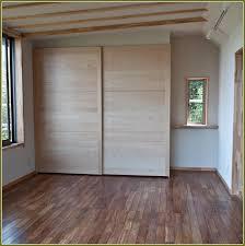 wooden ikea closet doors