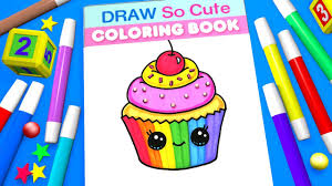 Select from 35478 printable coloring pages of cartoons, animals, nature, bible and many more. Cupcake Coloring Page For Kids Learn Colors Youtube