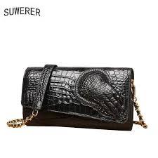 <b>SUWERER 2019 New Cowhide</b> Women Genuine <b>Leather</b> Bags ...
