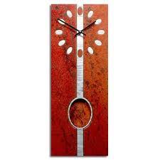 Small Picture Artistic Pendulum Wall Clocks Artisan Crafted Clocks Designer