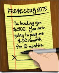 Family Loan Template Sample Promissory Note For Loans To Family Friends Creditcards Com