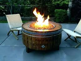 propane fire pit with glass rocks propane glass fire pit propane fire pit table glass rocks