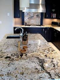 Kitchen Backsplash With Granite Countertops Cool 48 Delightful Granite Countertop Colors With Names And Pictures