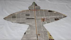 How To Make Designer Kite How To Make A Bird Kite At Home Very Easily Step By Step To Make A Kite At Home