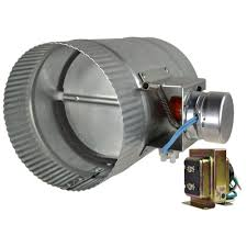 air conditioning damper. automated damper normally closed air conditioning