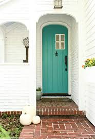 Turquoise front door Sidelights Turquoise Door Entry Transitional With Turquoise Front Door Contemporary Wallpaper Rolls Decoist Turquoise Door Entry Transitional With Turquoise Front Door
