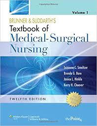 Brunner Suddarth 12 Edition Test Bank Brunner Suddarth S Textbook Of Medical Surgical Nursing
