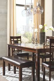 Bennox Dining Room Table And Chairs With Bench Set Of 6 In 2019