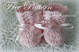 Crochet Baby Booties Pattern 3 6 Months Stunning Lacy Crochet Crochet Baby Booties Size 4848 Months Free Pattern