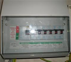 richard coombs electrical safety dunblane finally very modern properties or those that have been re wired in the last few years will have an up to date consumer unit consisting of mcbs and one or