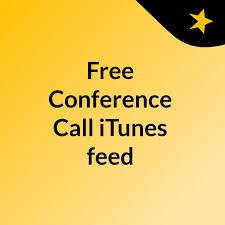 Free Conference Call iTunes feed