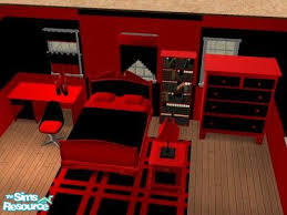 Red And Black Bedroom Set | House Home