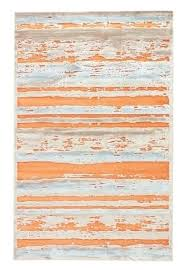 orange and blue area rug living fables dazzle apricot orange barely blue area rug downtown west