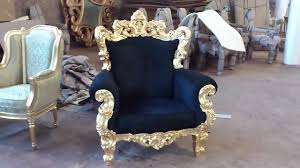 italian wood furniture. Luxury Italian Furniture Golf Leaf Sofa Carving | VIXIDesign.com - YouTube Wood I