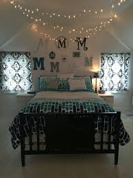 lighting for girls room. Teenage Girls Bedroom, Twinkle Lights, Christmas Teal, Silver, M, Black And White Lighting For Room Pinterest