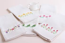 Cozy And Chic Machine Embroidery Designs For Kitchen Towels - Home machine embroidery designs