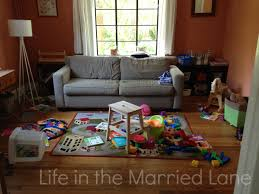 Playroom Living Room Six Tips On How To Keep Your Toys Organized When You Dont Have A