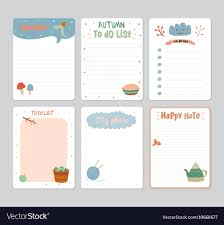 Cute Contact List Template Cute Daily Calendar And To Do List Template