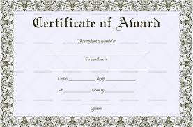 Most Likely To Award Template 27 Printable Award Certificate Templates Free Premium