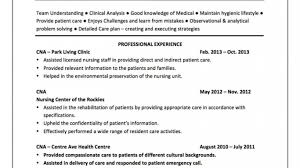 Cover Letter For Cna Resume Phenomenal Sample Resume Cna Template For Nursing Assistant Job 96