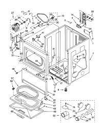 Wiring diagram kenmore 90 series dryer inspirationa kenmore model residential dryer genuine parts
