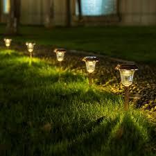 garden path lights. GIGALUMI Solar Path Lights Outdoor, Waterproof Outdoor For Garden, Landscape, Garden