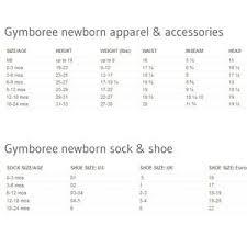 Gymboree Baby Shoe Size Chart Gymboree Baby Velcro Sandal Crib Shoe Size 03 Nwt