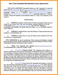 8-9 Ny Residential Lease Agreement Template | Fedupflyers.org