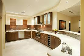 Home Design : Beautiful Kitchen Design For A House With A White Kitchen  Table And Kitchen Cabinets And A Gas Stove And Sink Plus Left Corner The  beautiful ...