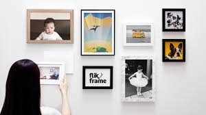 Flikframe: World's 1st re-stickable, collapsible photo frame