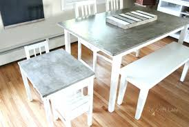 diy kitchen tables a step by step tutorial to make a concrete table top that is