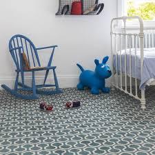 Alternative Flooring, Quirky B Honeycomb In Duck Egg In Childrenu0027s Bedroom