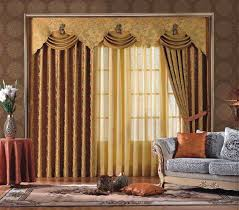 Different Curtain Designs Luxury Orange Curtains Drapes And Window Treatments