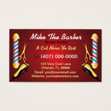 barbershop business cards barbershop business cards templates zazzle