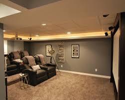 Basement Home Theater Design Ideas Decor