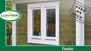 Gartenhaus Bauen Fenster Einbauen Lugarde Youtube