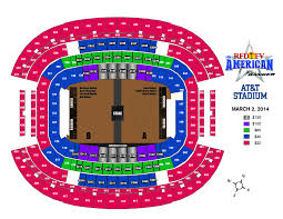 Cowboys Stadium Suite Chart Rfd Tvs The American Announces Arena Map And The Crowne Plaza