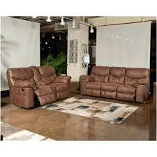 ashley reclining sofa reviews signature design by acieona with drop down table in slate